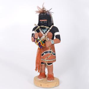 Willard Sekiestewa (1904-1992) Hopi Snake Dancer with Dedication Collected by John S. Boyden, Sr. (1906-1980)