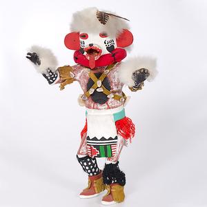 Orville Talayumptewa (1922-2006) Hopi Hon, Bear Katsina Collected by John S. Boyden, Sr. (1906-1980)