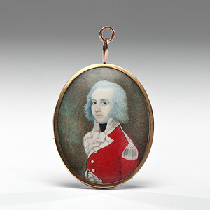 Miniature Portrait Attributed to Charles Robertson