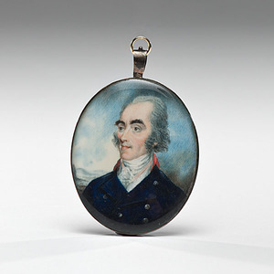 Miniature Portrait by Thomas Brown of York