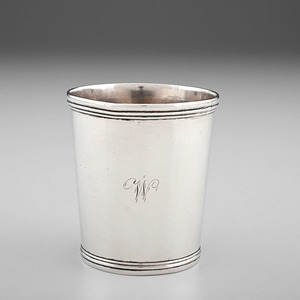 Coin Silver Julep Cup by David Kinsey