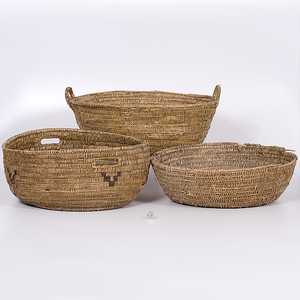 Large Southwestern Utilitarian Baskets Collected by John S. Boyden, Sr. (1906-1980)