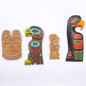 Northwest Coast Carved Plaques From the Collection of Dr. Kent and Karen Vickery, Colorado