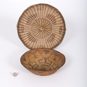 Hopi Third Mesa and Pima Basket From the Collection of Dr. Kent and Karen Vickery, Colorado