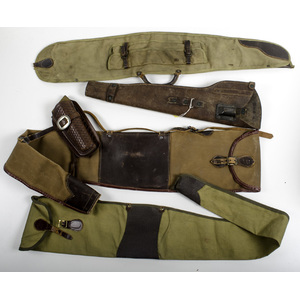 M-1 Carbine Scabbard, Plus Holster and Other Canvas Slings