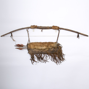 Reproduction Plains Bow and Quiver From the Collection of Jan Sorgenfrei, Ohio