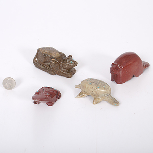 Zuni Carved Animal Fetishes From the Collection of Dr. Kent and Karen Vickery, Colorado