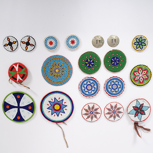 Selection of Beaded Roundels From the Collection of Dr. Kent and Karen Vickery, Colorado