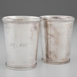 John Kitts & Co. Coin Julep Cups