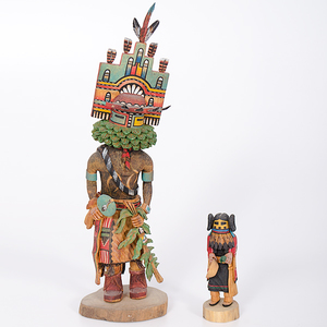 Hopi Hemis and Corn Maiden Katsinas From the Collection of Dr. Kent and Karen Vickery, Colorado