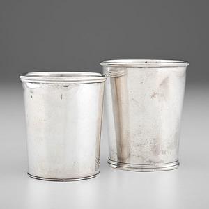 Louisville, Kentucky, Coin Silver Beakers