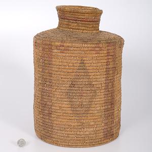 Mescalero Apache Polychrome Basket