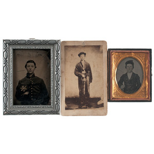 James A. Custer, Second Cousin to George Custer, Ohio 12th Cavalry, KIA Mount Sterling, Kentucky, Photographs