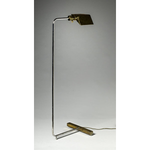 George Kovacs Brass Floor Lamp