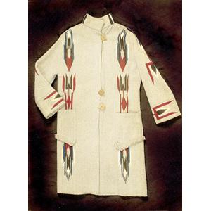 7Chimayo Three-Quarter-Length Coat,