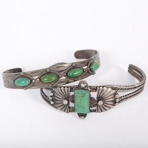 Fred Harvey Era Navajo Bracelets