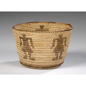 Pima Figural Basket,