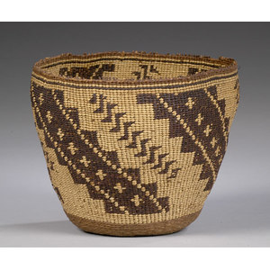 California Twined Basket,