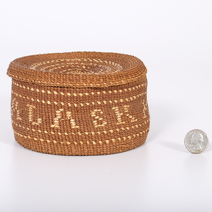 Tsimshian Lidded Basket