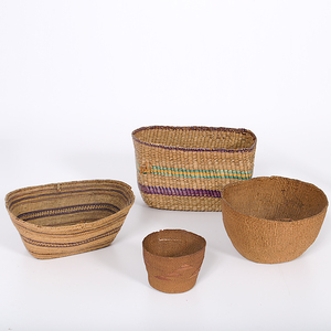 Northwest Coast Indian Baskets