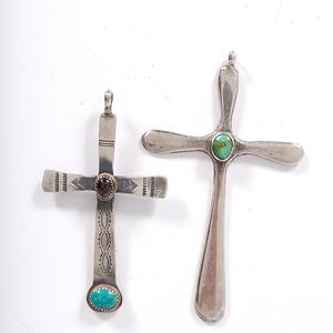 Navajo Tufa-Cast Crosses
