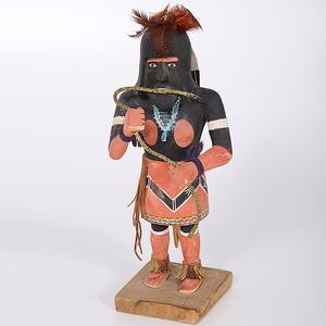 Willard Sekiestewa (1904-1992) Hopi Snake Dancer (1973)