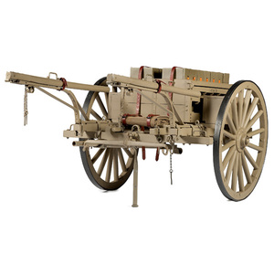 Lewis Vickers Ammunition Cart