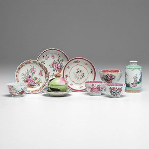 Chinese Export Famille Rose Porcelain, Plus