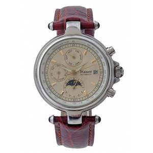 Stauer Graves 33 Moonphase Automatic Wrist Watch
