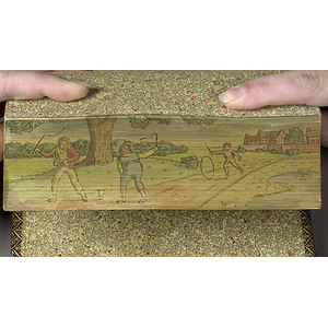 Romola by Eliot with Fore-Edge Paintings,