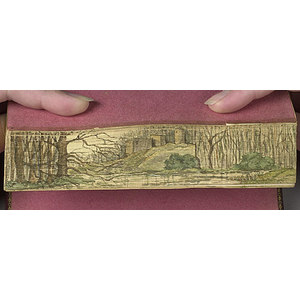 The Seasons by Thomson with Fore-Edge Painting,