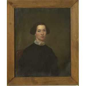 Fine American Portrait of a Lady,