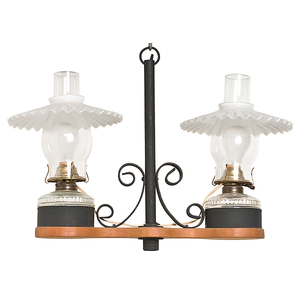 Hanging Double Lamp