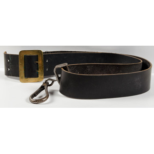Civil War Carbine Sling and Ring