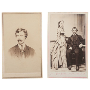 Cody Family Cabinet Card and CDV Albums, 1860s-1890s, Including Wm. F. Cody Cabinet Card