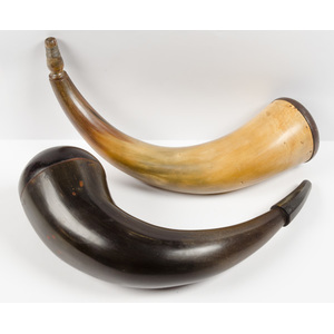 Powder Horns, Lot of Two