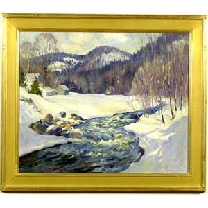 Winter Landscape by H. Boylston Dummer,