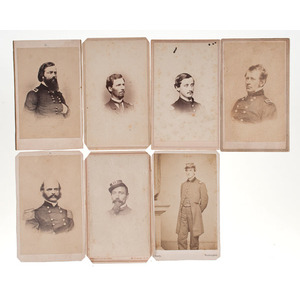 Civil War CDVs of Generals & Other Identified Officers