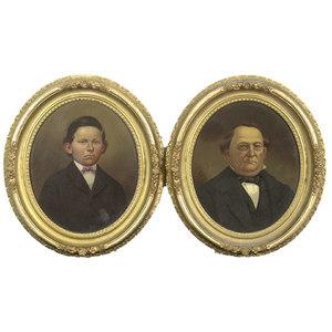 Pair of Germantown, OH Portraits,