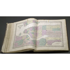 1856 World Atlas,