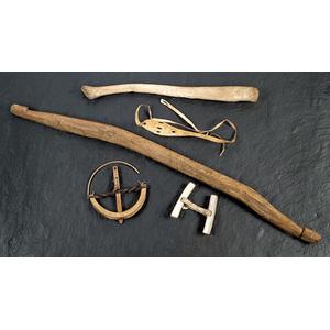 Group of Eskimo Utilitarian Items,