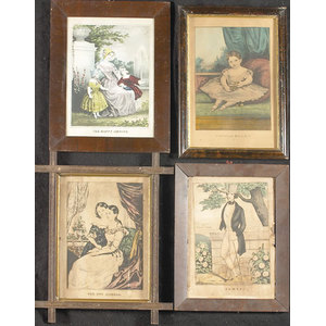 Currier & Ives, Sardny & Major, and N. Currier Prints,