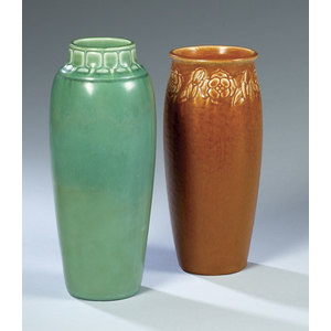 Two Rookwood Art Pottery Vases,