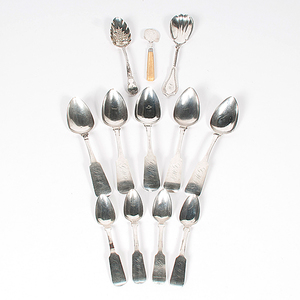 Sterling and Coin Silver Flatware