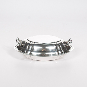 Gorham Sterling Chippendale Covered Vegetable Dish
