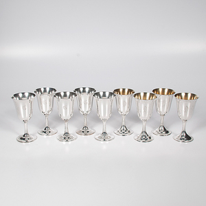 Wallace and International Sterling Goblets
