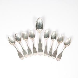 Early American Sterling Spoons