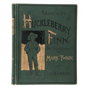 Adventures of Huckleberry Finn, First Edition