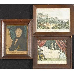Presidential Currier & Ives Prints,