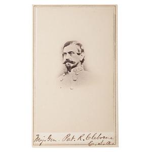 Confederate General James Cantey, CDV